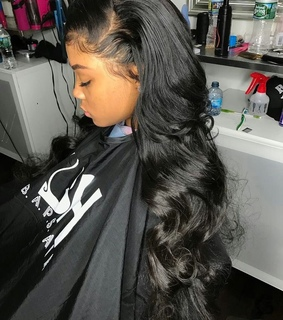 bundles, hairstyle and frontal