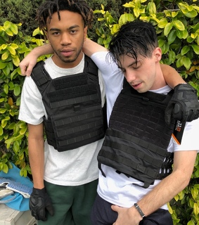 kevin abstract, ian simpson and brockhampton