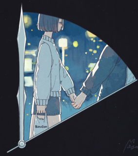 Ilustration, ?anime love and couples