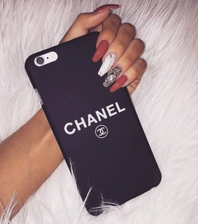 luxury, case and chanel