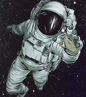 art, galaxy and space