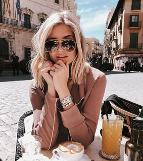 style, girl and sun glasses