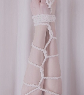 tied up, restraint and rope