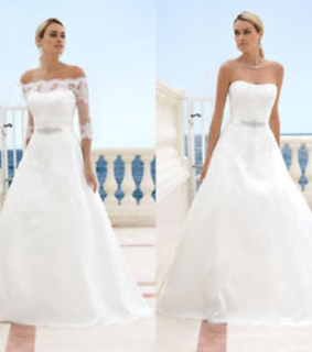 bridal dress and wedding dress