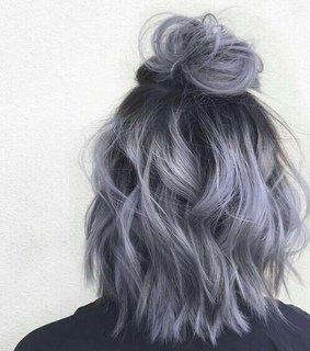 color, blue and dip dye