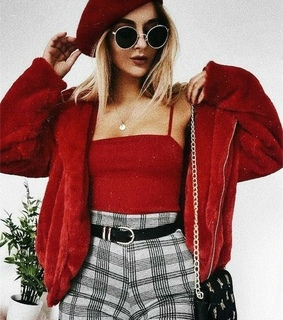 red, casual and body