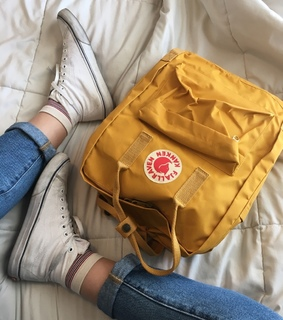 aesthetic, backpack and converse