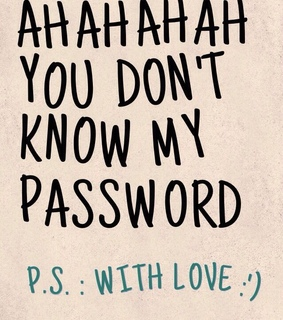 lock, love and password