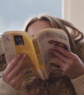 girl, books and story