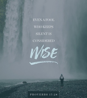 saved, verse and silent