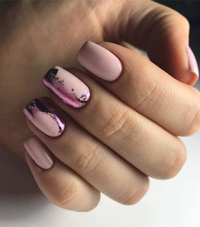 idea, nails and pink