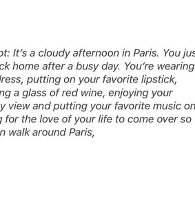 words, hipster and paris