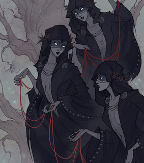 heahen, heathenism and three norns