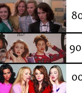 cher horowitz, 80s and mean girls