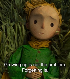 quotes, the little prince and growing up