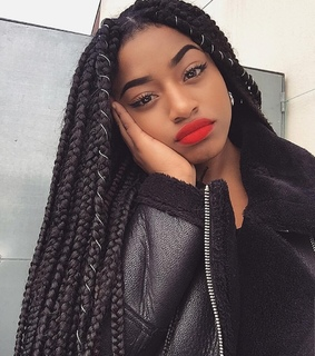 black, hairstyle and beauty
