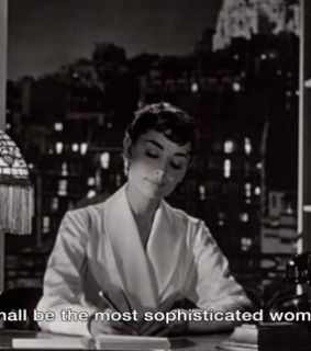 50s, audrey hepburn and black and white