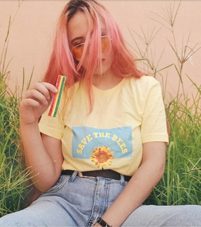 90s, pink hair and tumblr gir