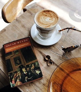 art, book and brown