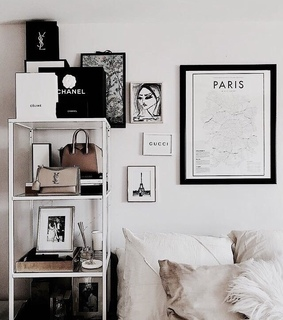 Givenchy, YSL and bedroom