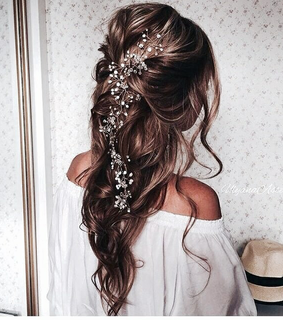 capelli, flowers and long