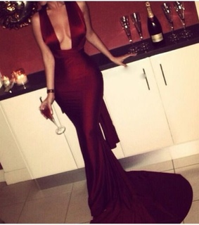 classy, red and elegant