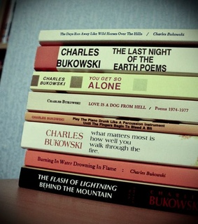 books, charles bukowski and poetry