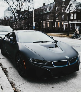 black, bmw and cars