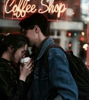 coffee shop, Relationship and girl