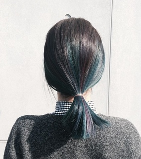 color hair, haircut and hairstyle