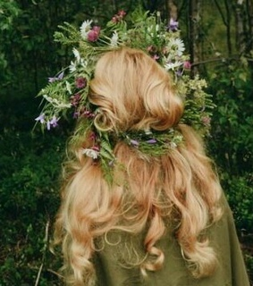 crown, forest and fantasy