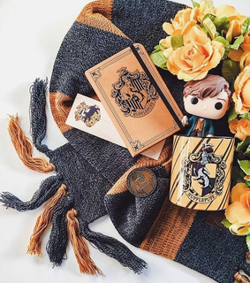 hufflepuff, newt scamander and book