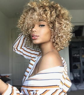 hair style, pretty and curl