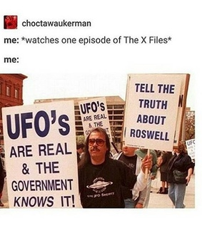 tumblr, mulder and scully and textpost