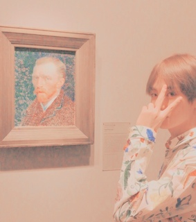 ulzzang, taehyung and aesthetic