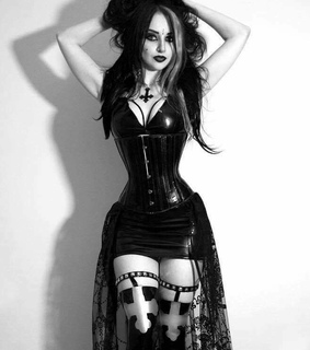 tumblr, goth fashion and gothic style