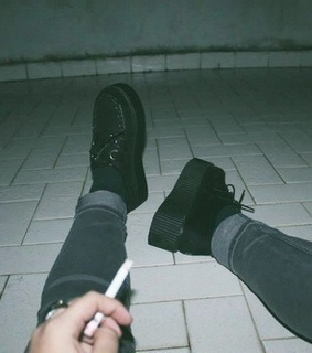 Grudge, cigs and dark