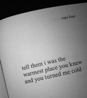 broke, cold and love
