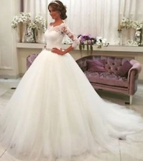 ball gown wedding dress and bridal dress