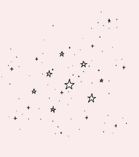 aesthetic, constellation and cute