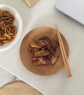 Chicken, aesthetic and asian