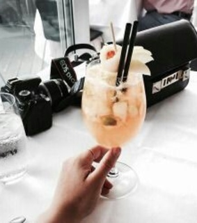 camera, cocktail and drink
