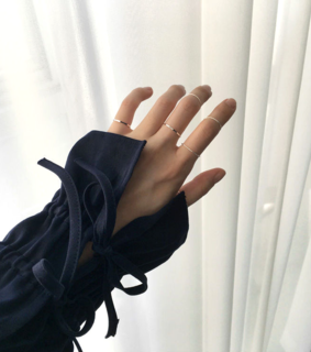 aesthetic fashion, minimal and jewelry