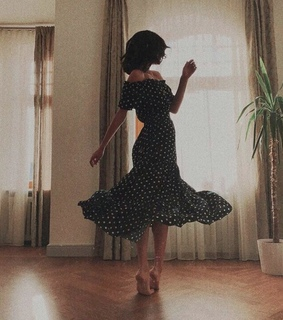 blurry, dancing and dress