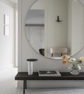 furniture, light and marble