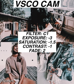 vscocam, vsco and filters