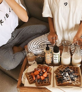 Lazy, boho and breakfast
