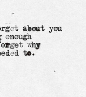 quote, forget and typography