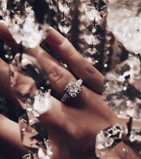 diamonds, engagement and goals