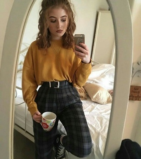 fashion, thrift and mustard